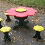 Столы и лавочки для сада