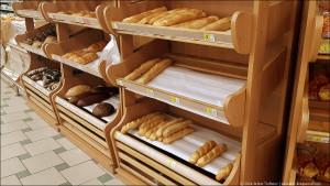 хлебные стеллажи